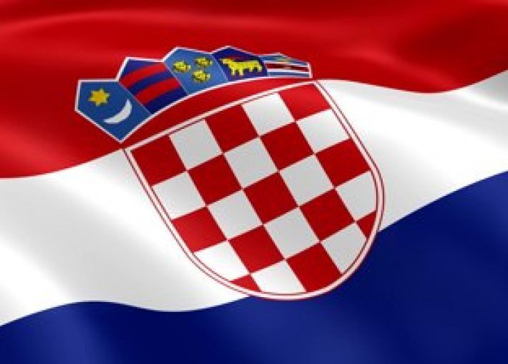stock-footage-croatian-flag-in-the-wind-part-of-a-series